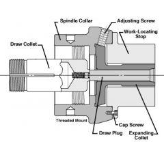 E-206 DRAW COLLET