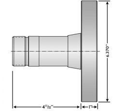 "16C-6"" FIXTURE PLATE"