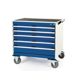Deep Mobile Cabinets, Drawers 2x75, 2x100, 1x150