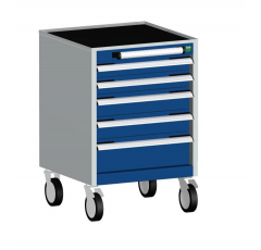 Deep Mobile Cabinets, Drawers 3X100,2x75,2x100,1x150