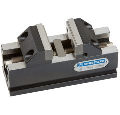 MZE 190-100, Mechanical centre clamping vice with step jaws
