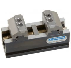MZQ 220-80, MZQ Mechanical Centre Clamping Vice with Reversible Stepped Jaws