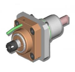 Geared-up radial driven tool I = 1:3 ER16