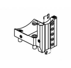 Radial blade holder