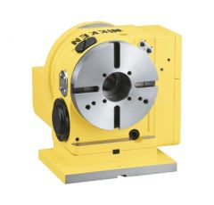 Back Side Motor Mounted CNC Rotary Table - CNCZ180B