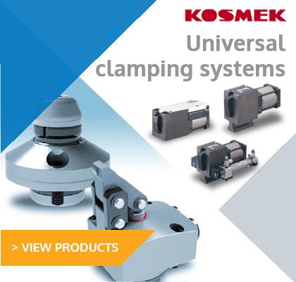 Kosmek universal clamping systems