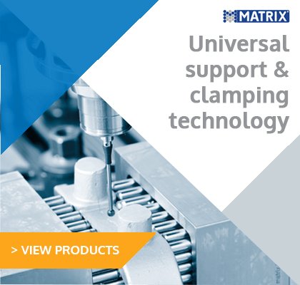 Matrix universal support & clamping technology